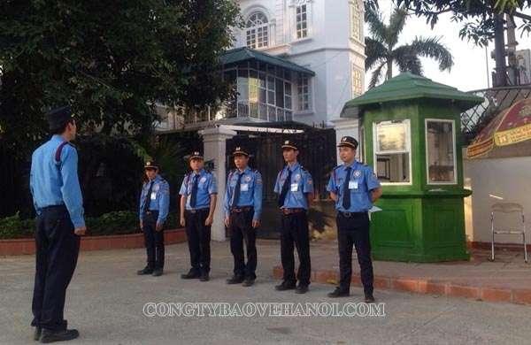 Tuyển lao động phổ thông – Nhân viên Bảo vệ tại Hà Nội lương cao