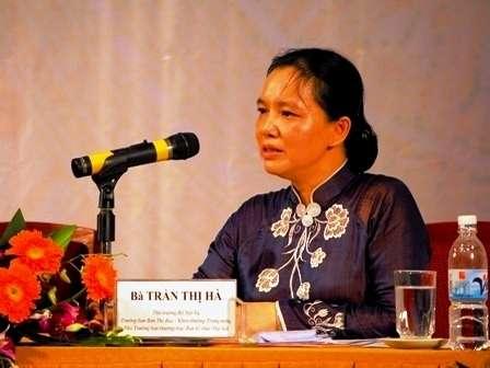 Bà Trần Thị Hà