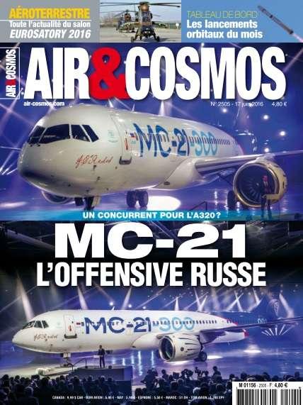 Air & Cosmos 2505 - 17 au 23 Juin 2016