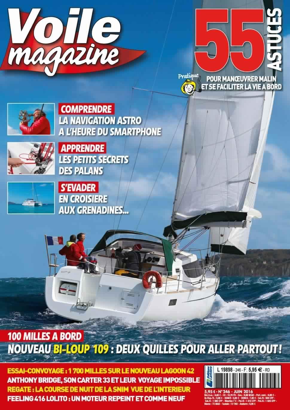 Voile magazine 246 - Juin 2016