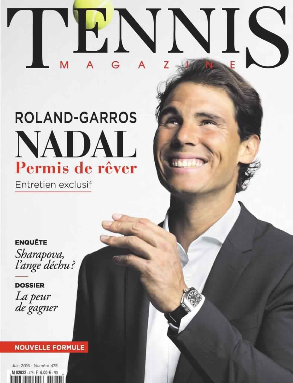 Tennis magazine 475 - Juin 2016