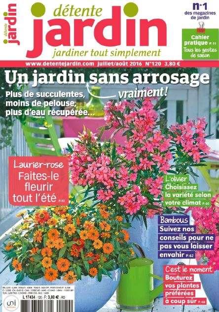 Détente Jardin 120 - Juillet-Aout 2016