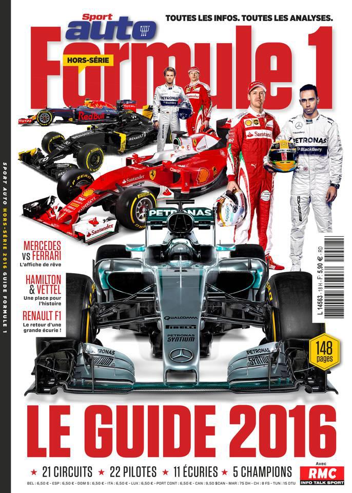 Sport Auto Hors-Série - Guide Formule 1 - 2016