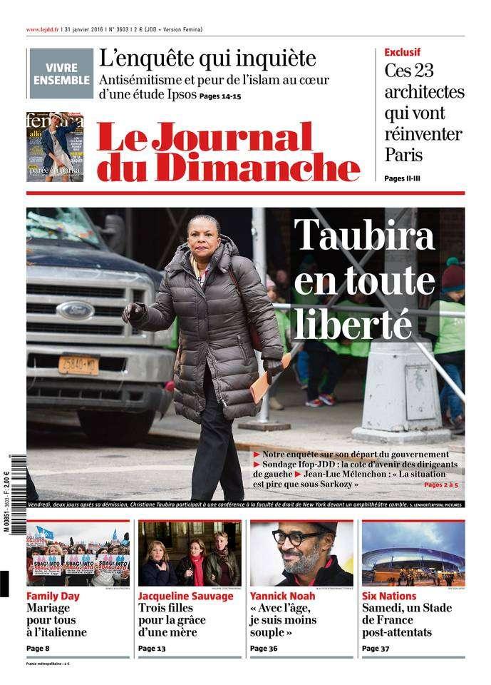 Le Journal du Dimanche 3603 du 31 Janvier 2016