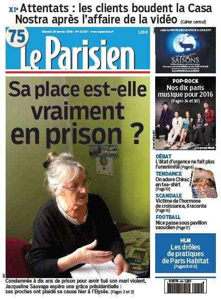 Le Parisien + journal de Paris du Samedi 30 Janvier 2016