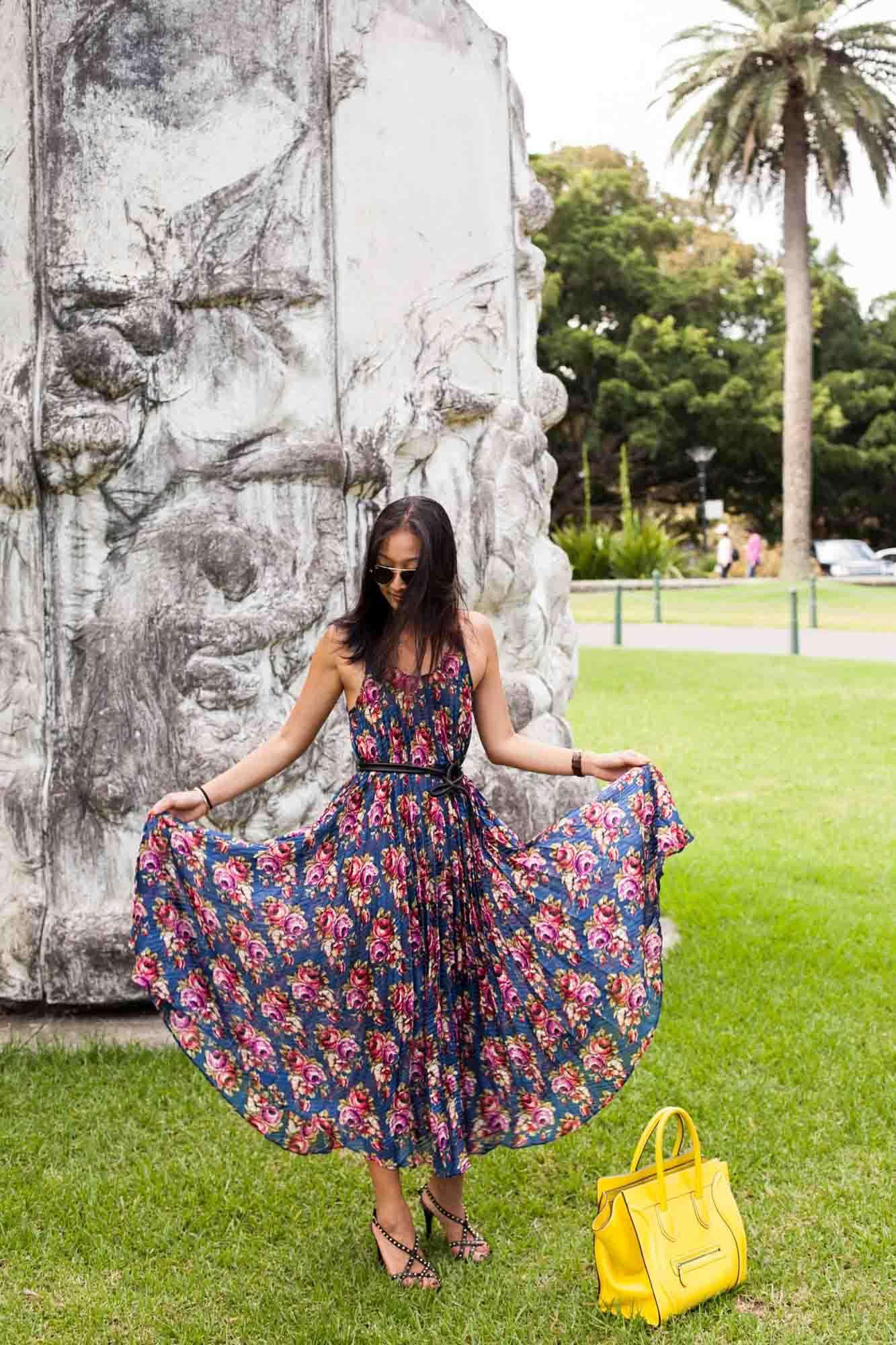 Pleated Flowers & Pop Art