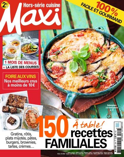 Maxi Hors Série Cuisine - Septembre/Octobre 2016