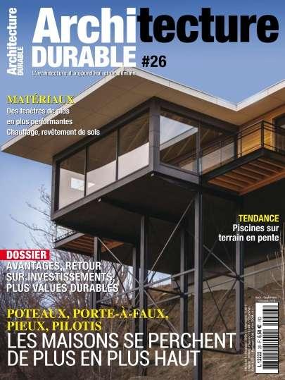 Architecture Durable - Août/Octobre 2016