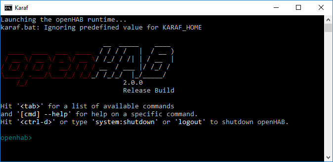 Karaf_Windows