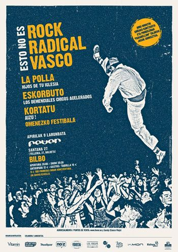 Esto no es rock radical vasco - cartel