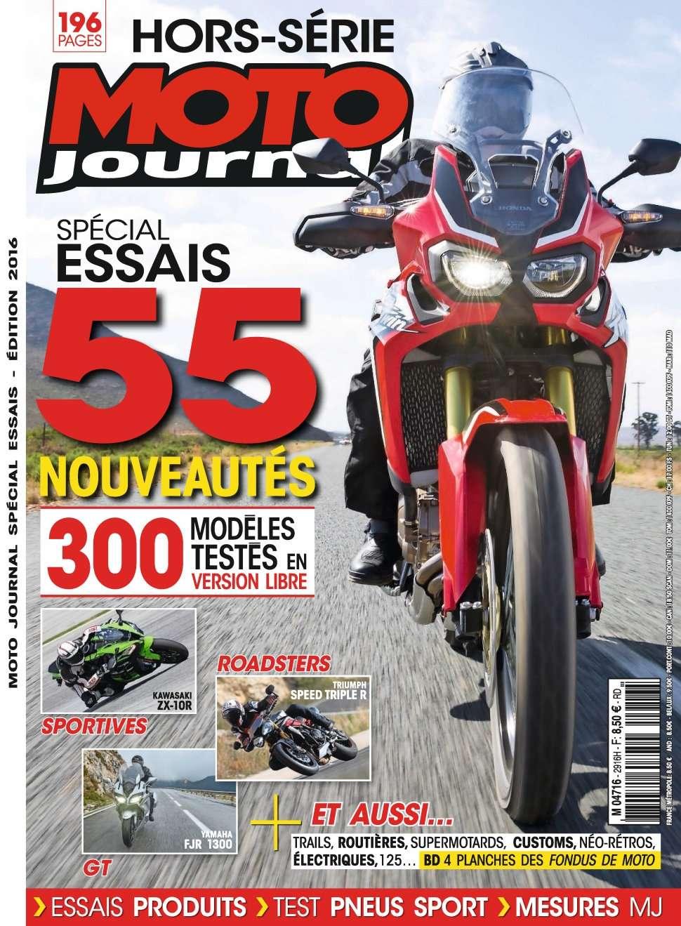 Moto Journal HS 2956 - Spécial Essais Edition 2016