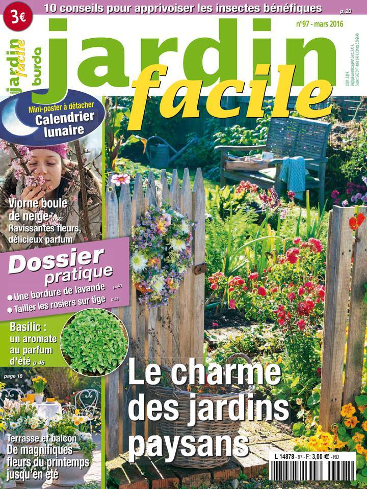Jardin Facile - Mars 2016