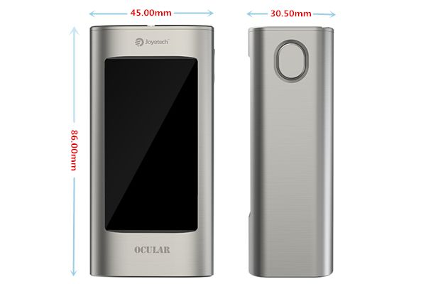 Joyetech Ocular Box Mod powered by dual 18650 battery_vaporl.com