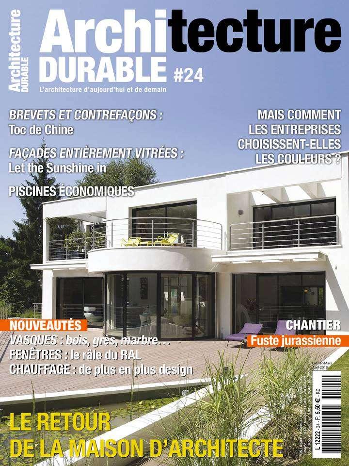 Architecture Durable - Février/Avril 2016