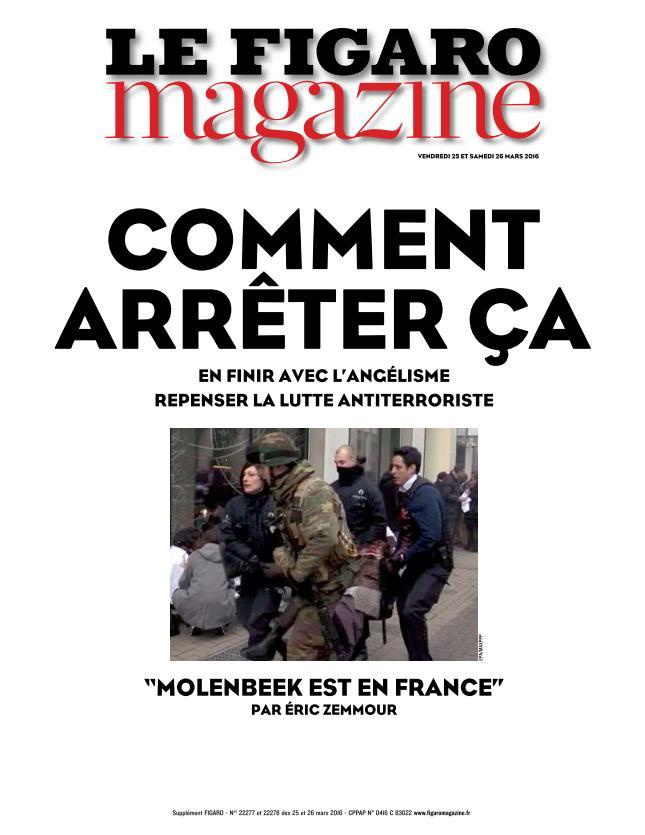 Le Figaro Magazine - 25 Mars 2016