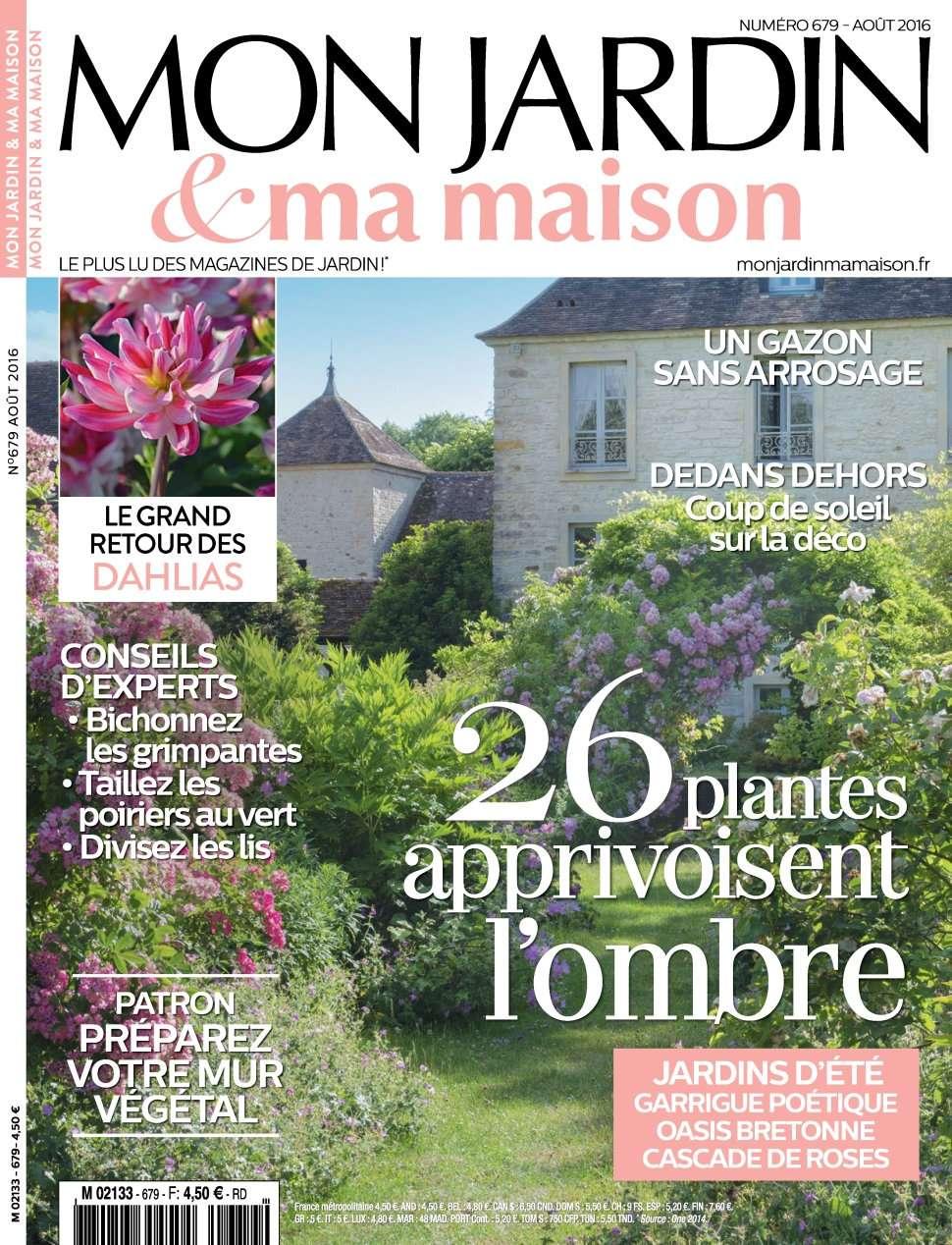 Mon Jardin & Ma Maison 679 - Aout 2016
