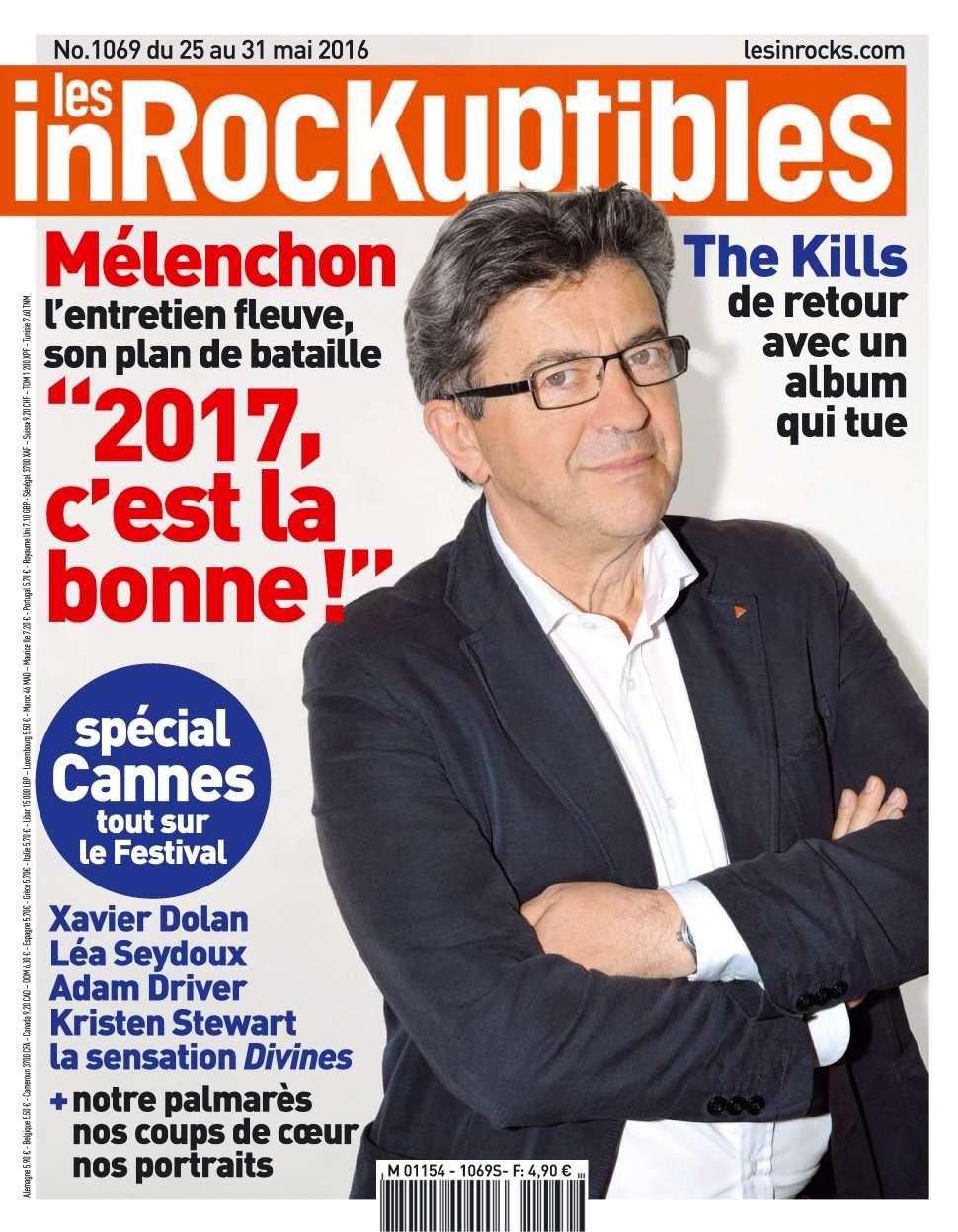 Les Inrockuptibles 1069 - 25 au 31 Mai 2016