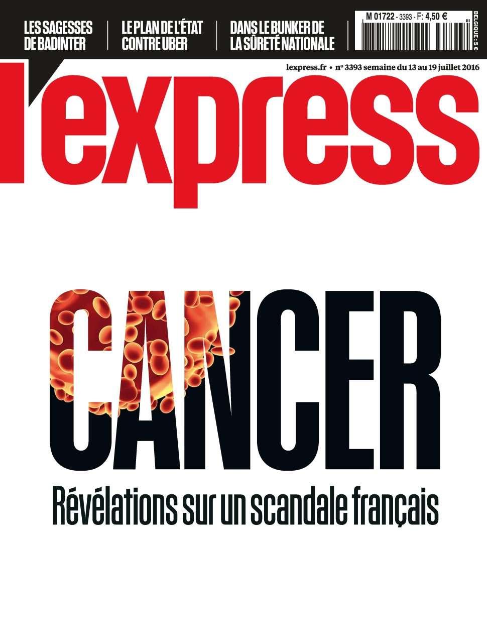 L'Express 3393 - 13 au 19 Juillet 2016