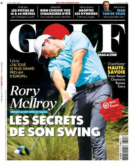 Golf Magazine France - Juillet 2016