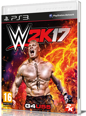 WWE 2K17 DOWNLOAD PS3 ENG (2016)