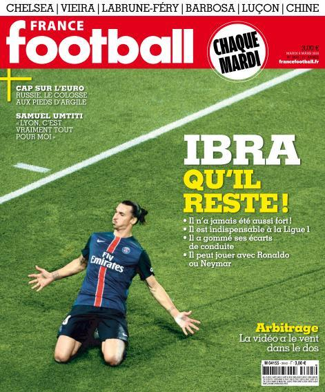 France Football - 8 Mars 2016