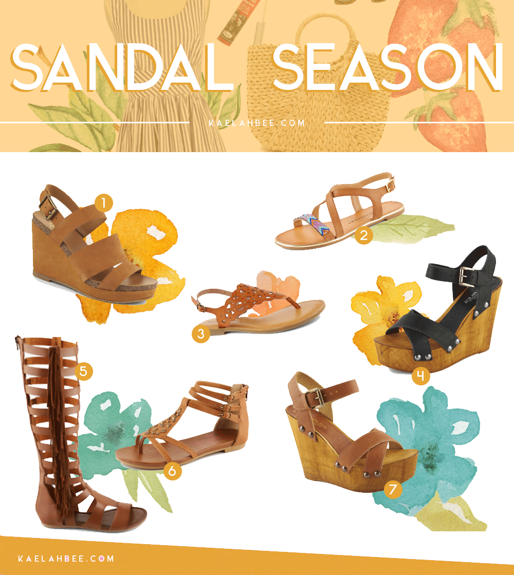 Sandal Season - Off Broadway Shoes