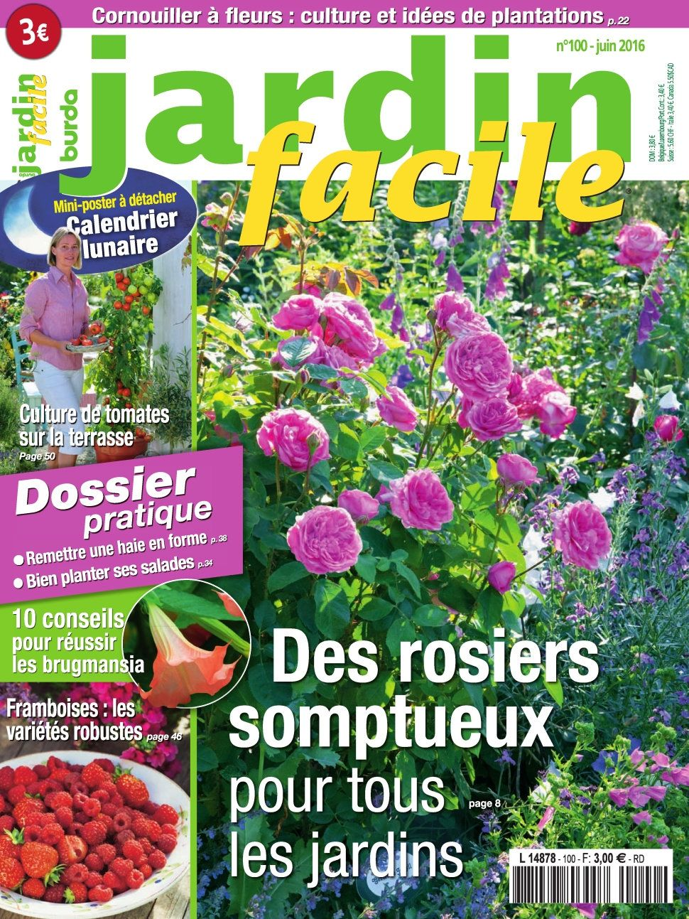 Jardin Facile 100 - Juin 2016