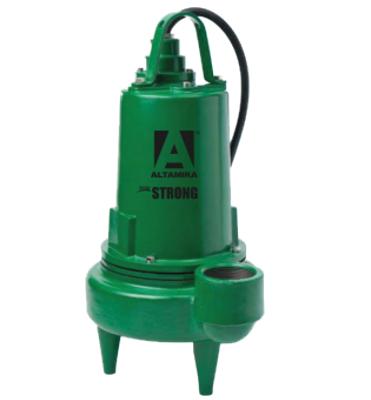 Bomba Sumergible Para Efluentes Y Lodos 3pulg 4hp Altamira