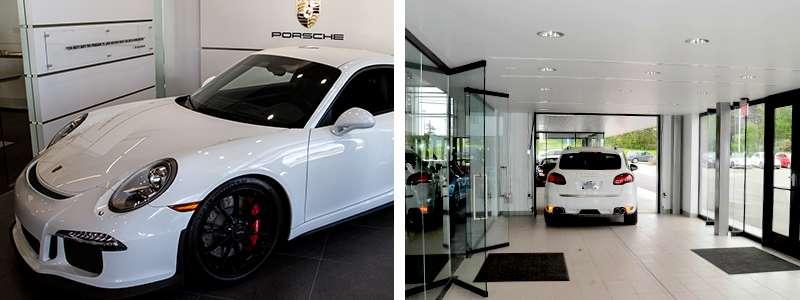 Porsche Ann Arbor Michigan Showroom