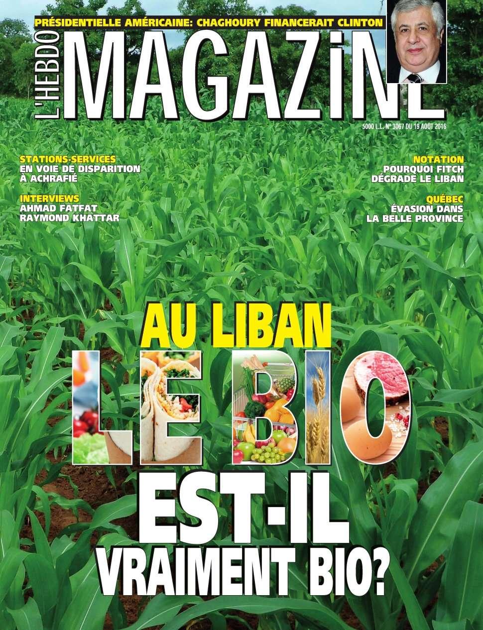L'Hebdo Magazine 3067 - 19 Août 2016