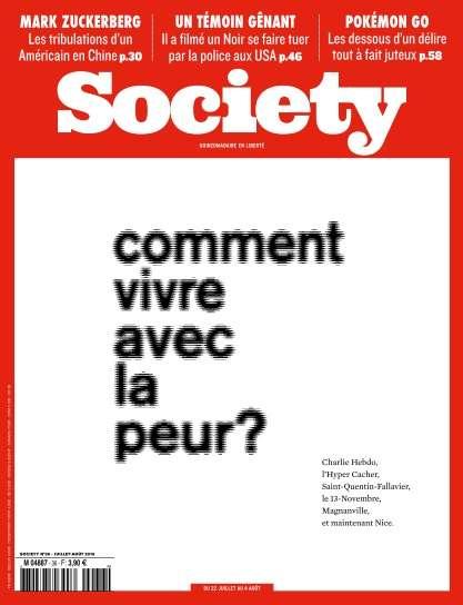 Society - 22 Juillet au 4 Août 2016