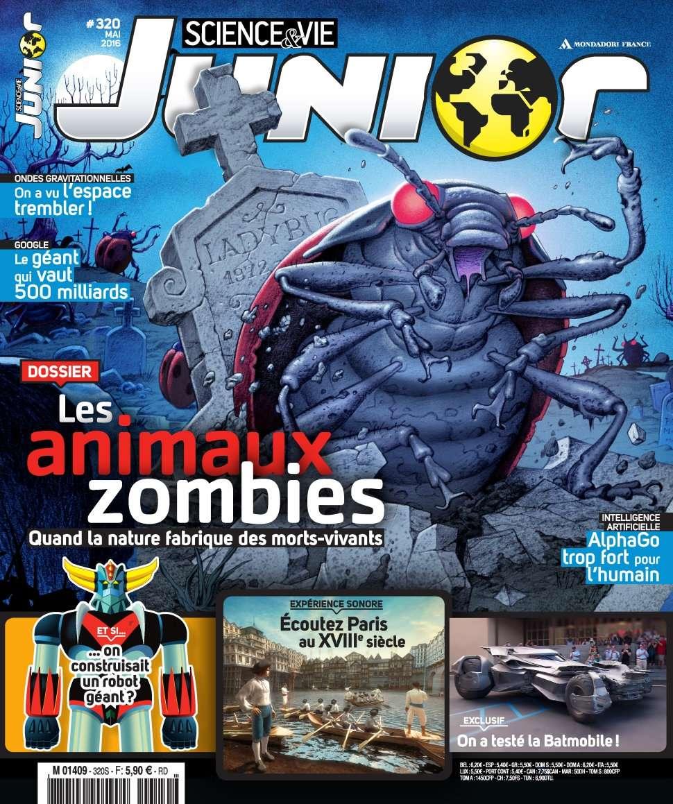 Science & Vie Junior 320 - Mai 2016