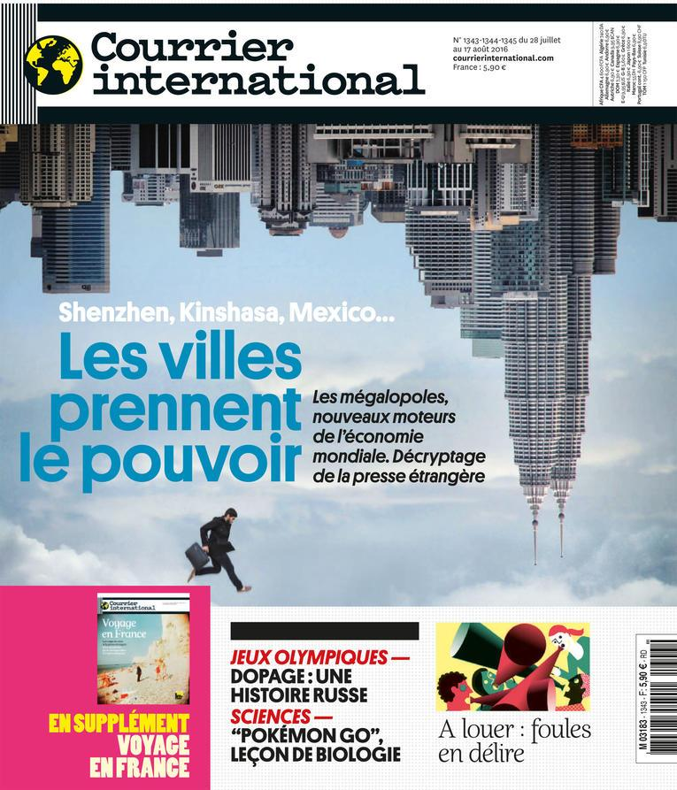 Courrier international du 28 juillet au 17 aout 2016