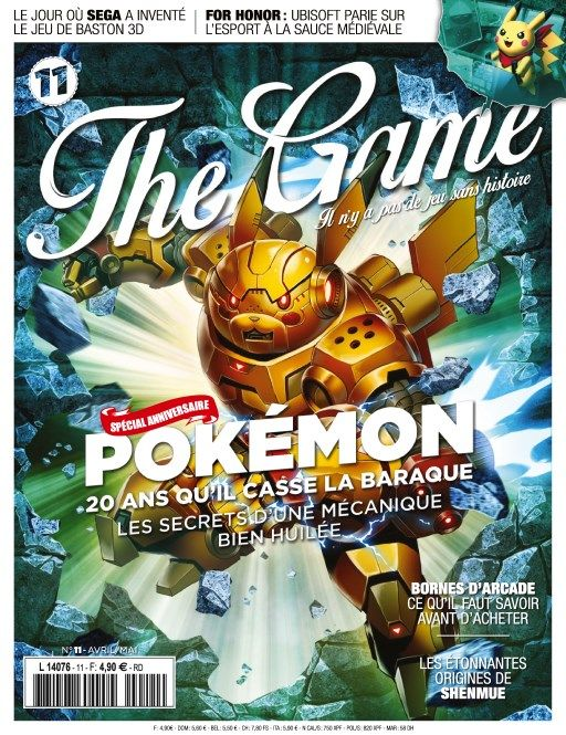 The Game 11 - Avril/Mai 2016