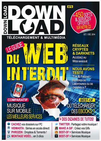 DownLoad 9 - Le Guide du Web Interdit