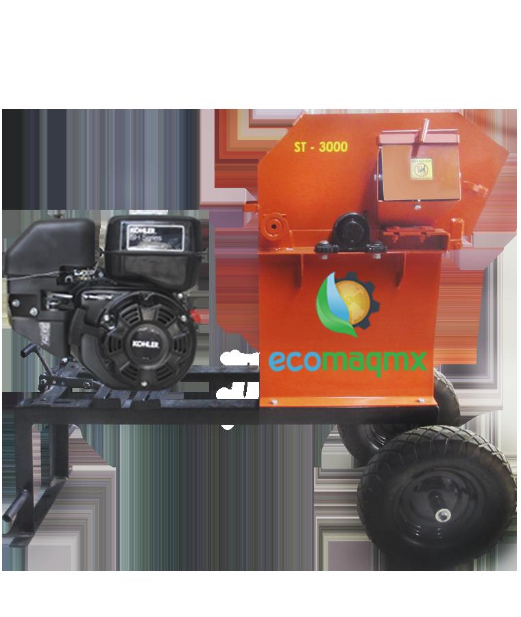 Molino Picadora De Forraje 3000 Ecomaqmx Motor 14 Hp Kohler