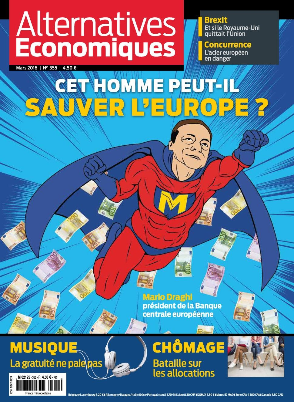 Alternatives Économiques 355 - Mars 2016