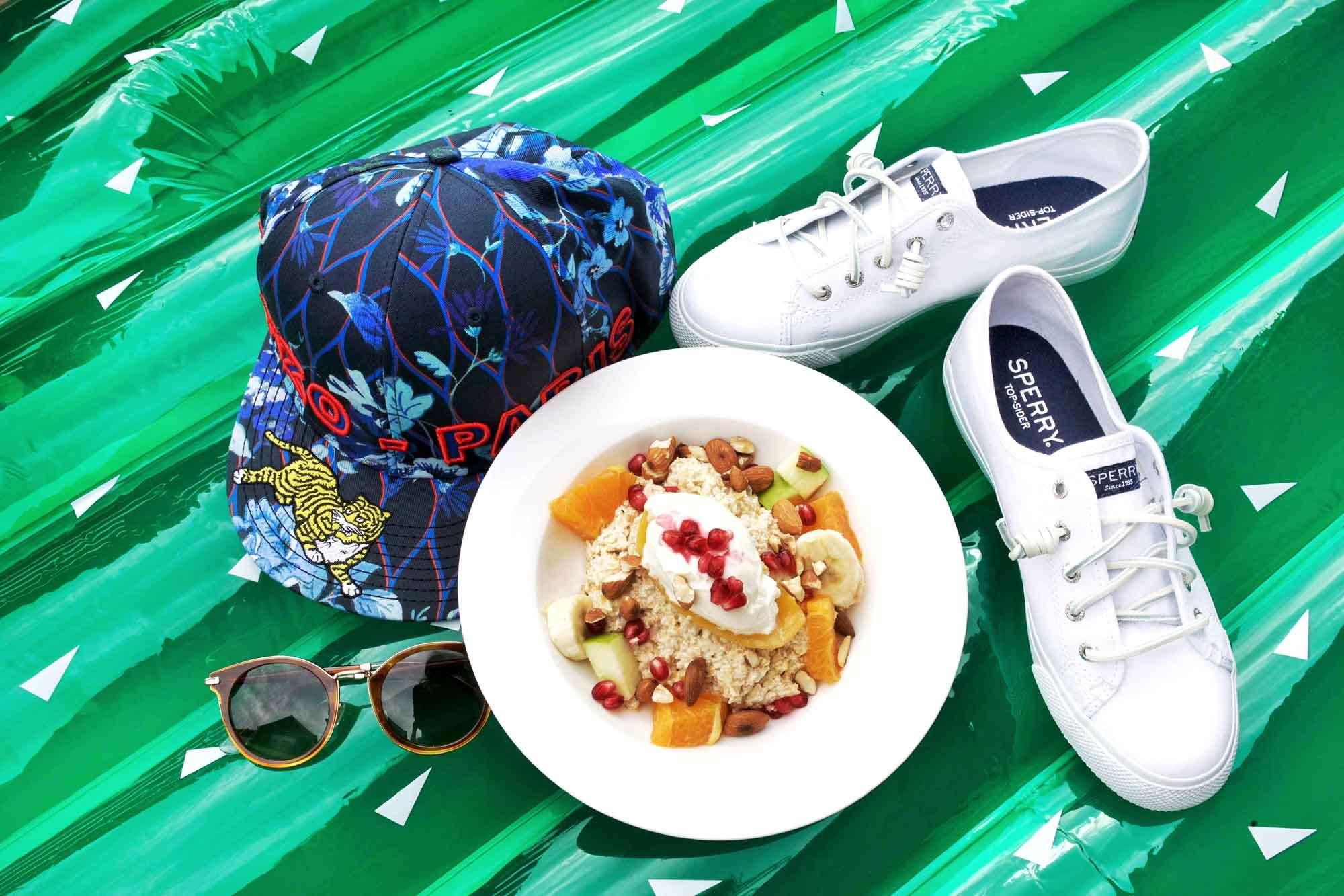 Breakfast Bircher, Sperry, Kenzo x HM