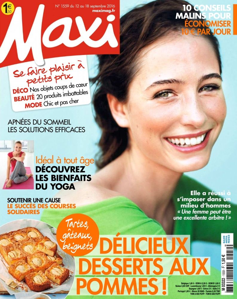 Maxi - 12 au 18 Septembre 2016
