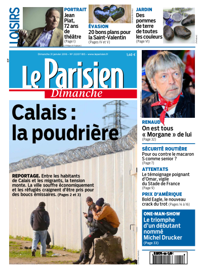 Le Parisien + Guide de votre Dimanche 31 Janvier 2016