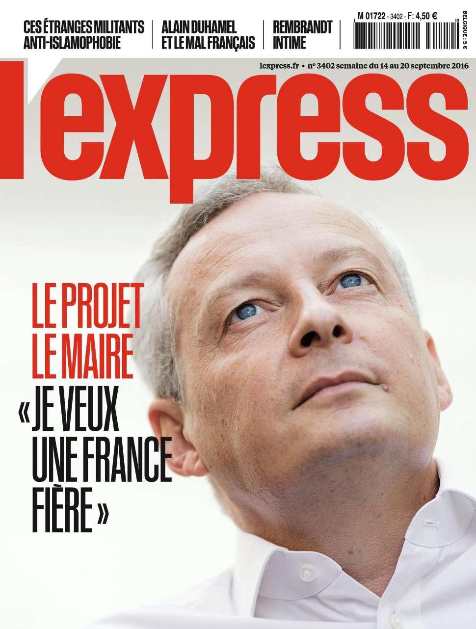 L'Express 3402 - 14 au 20 Septembre 2016
