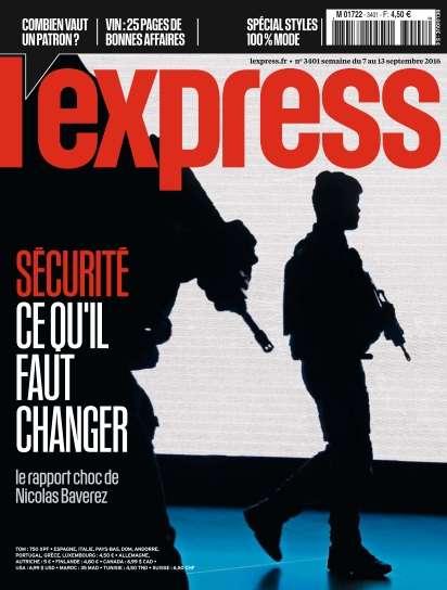 L'Express - 7 au 13 Septembre 2016