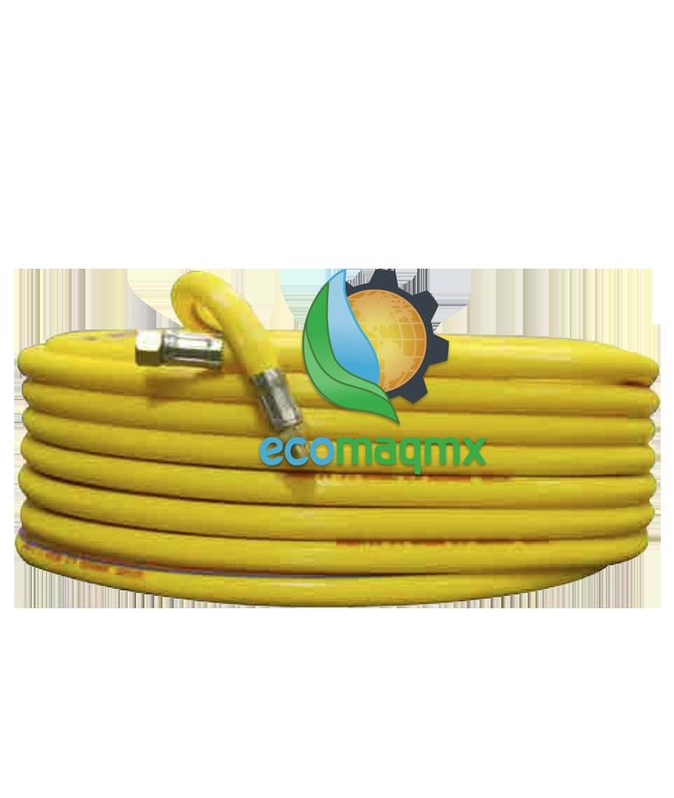 Manguera De 100m Ecomaqmx Para Parihuela Agricola Reforzada