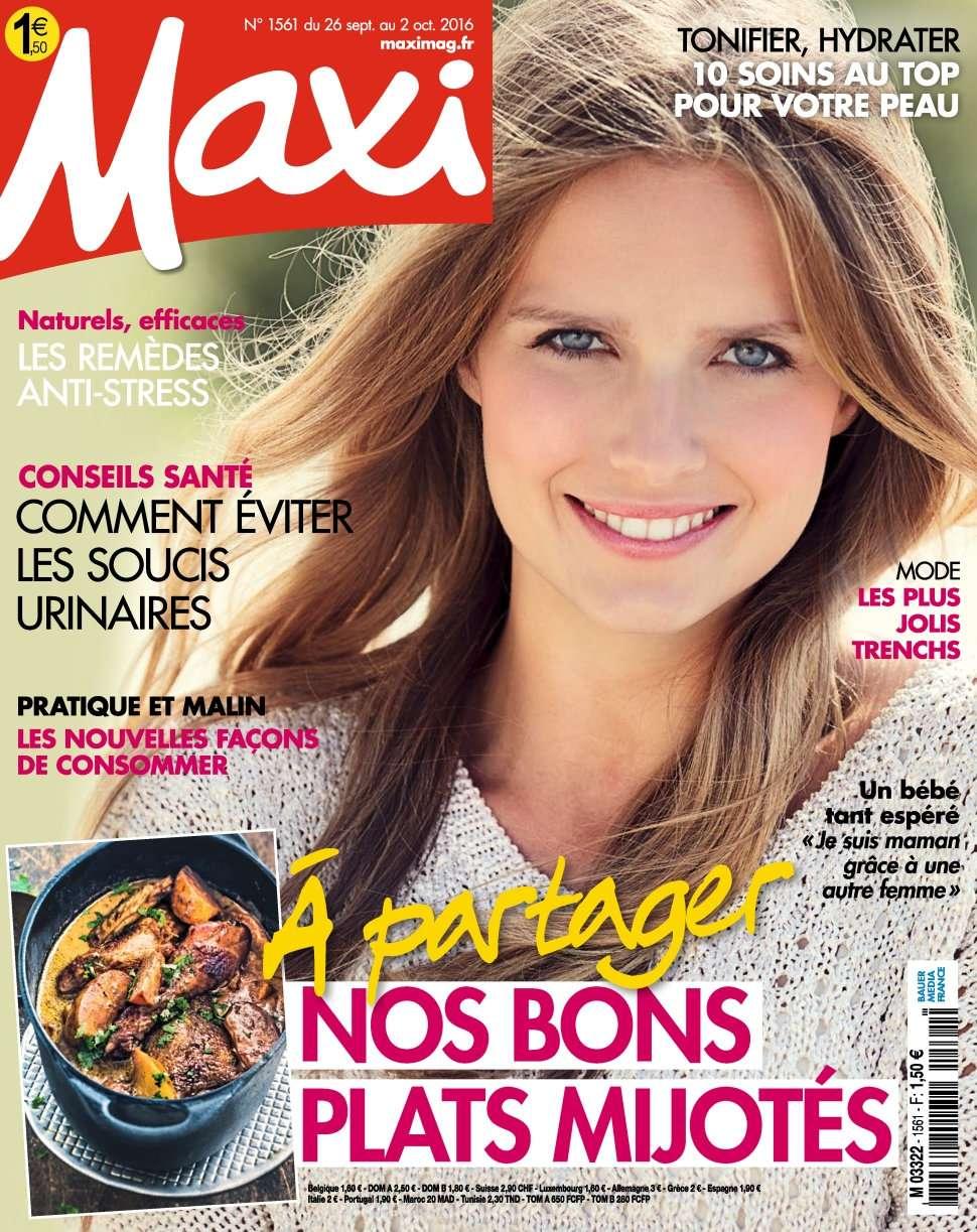 Maxi 1561 - 20 Septembre au 02 Octobre 2016