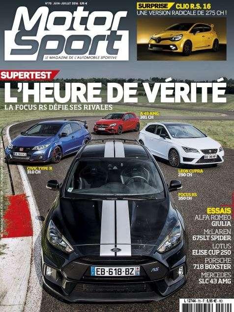Motor Sport 70 - Juin-Juillet 2016
