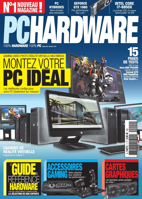 PC Hardware 1 - Septembre/Octobre 2016