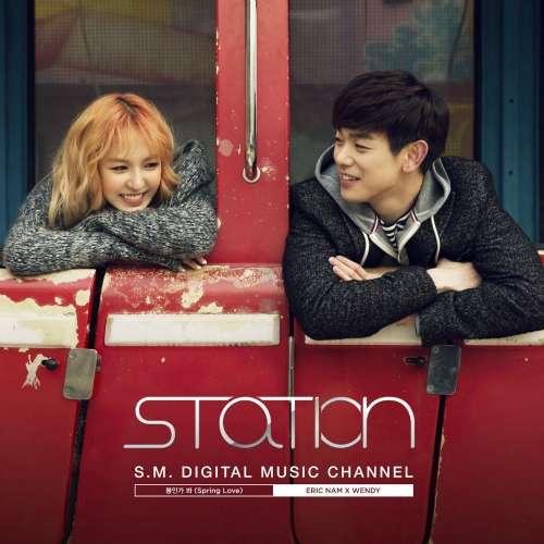 Eric Nam, Wendy (Red Velvet) - Spring Love + MV (Station) K2Ost free mp3 download korean song kpop kdrama ost lyric 320 kbps
