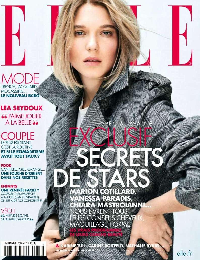 Elle France - 09 au 15 Septembre 2016