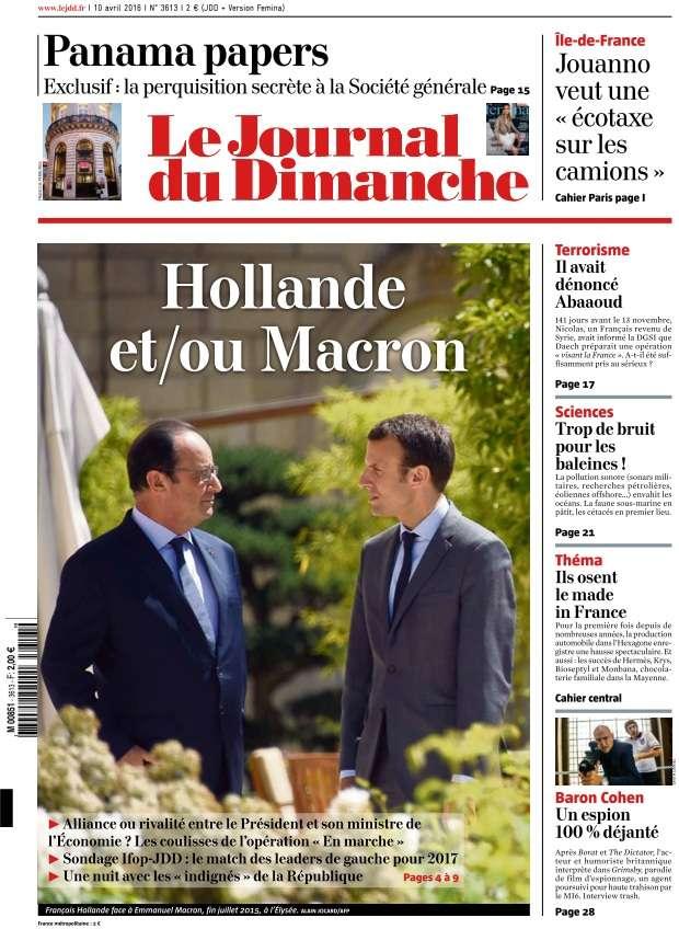 Le Journal du Dimanche - 10 Avril 2016