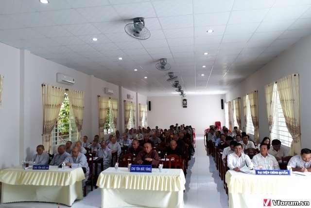 Phiên họp triển khai công tác tổ chức Đại lễ Phật đản và An cư Kiết hạ PL.2562-DL.2018